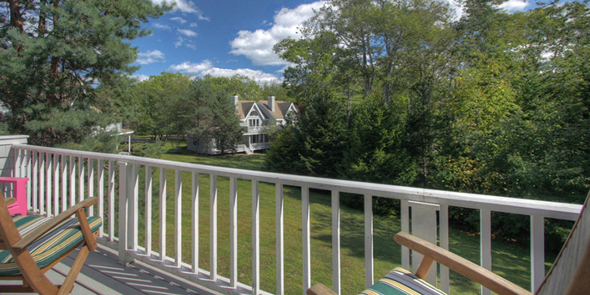 Two bedroom Townhouse patio view